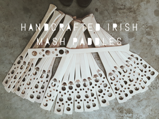 Handcrafted Irish Mash Paddles
