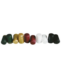Green & Gold Thermo Shrink Capsules for wine bottles 100