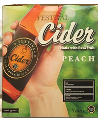 Festival Real Fruit Peach Cider Kit
