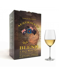 Australian Blend Chardonnay 7 day wine kit