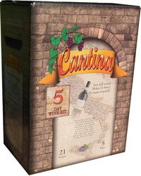 Cantina Shiraz/Merlot 5 day wine kit