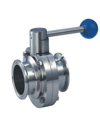 "1.5"" tri-clamp butterfly valve"