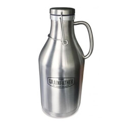 Grainfather Stainless Steel Swing Top Growler - 2 litres