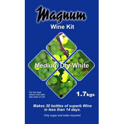 Magnum Dry White Wine Kit