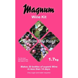 Magnum Dry Rose Wine Kit