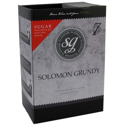 Solomon Grundy Platinum Sauvignon Blanc Wine Kit