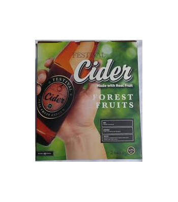 Festival Real Fruit Forest Fruits Cider Kit